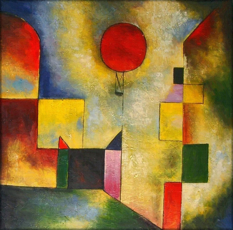 Red Balloon, by Paul Klee