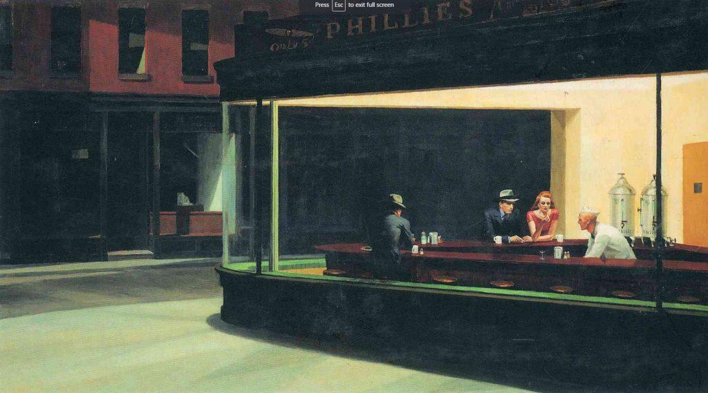 Edward Hopper - Nighthawks, 1942