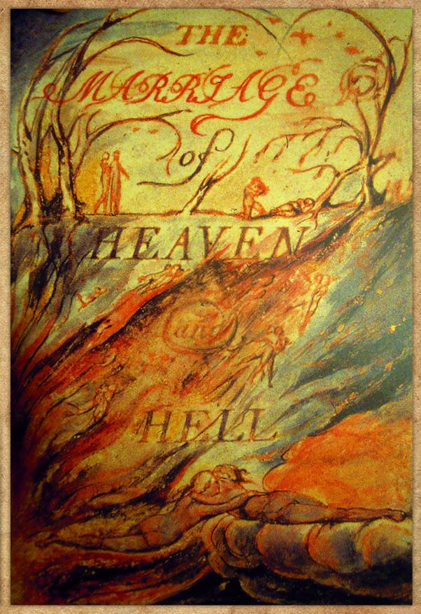 Οι Γάμοι του Ουρανού και της Κόλασης του Ουίλιαμ Μπλέικ