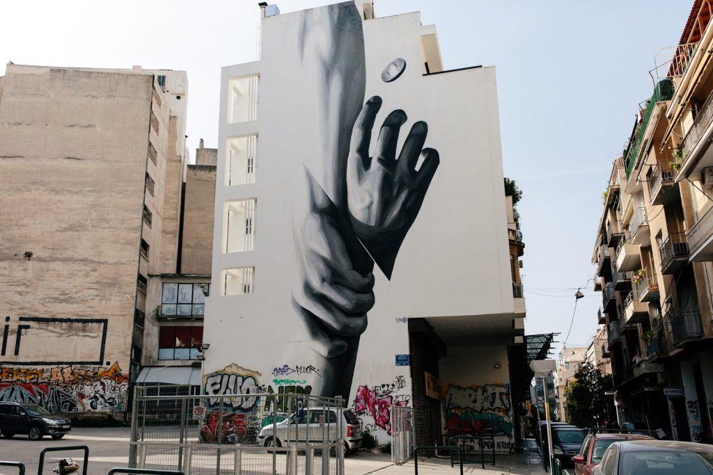 Street Art, Exarxeia, by INO