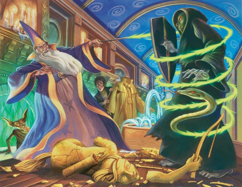 Εικονογράφηση για τα βιβλία του Harry Potter