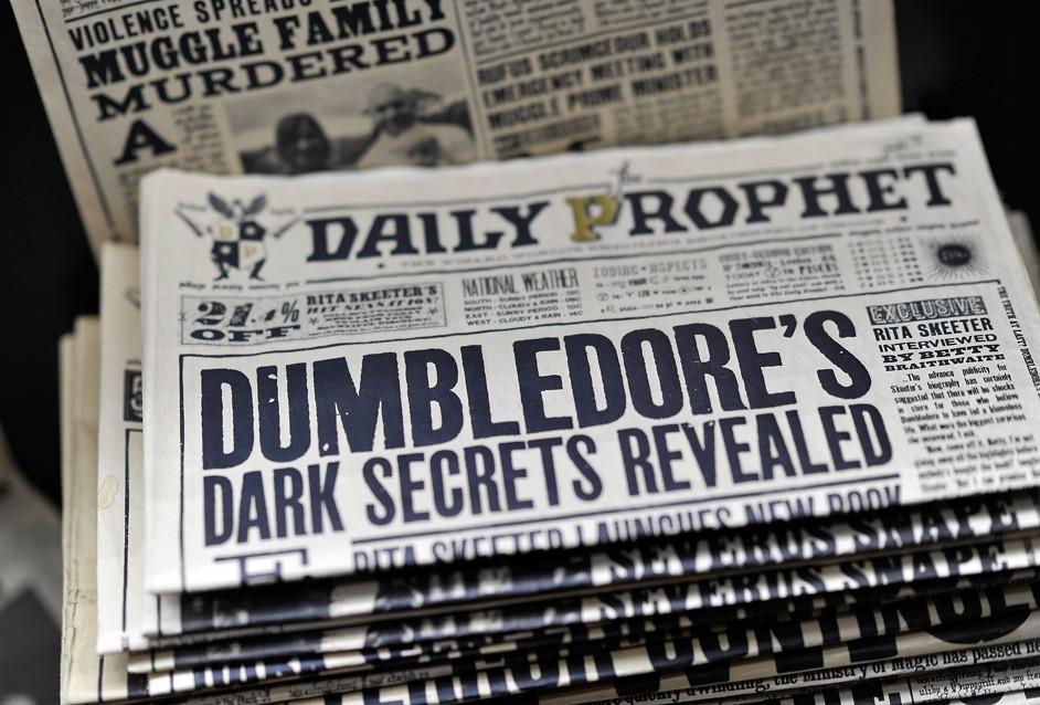 Η εφημερίδα Ημερήσιος Προφήτης (Daily Prophet) στις ταινίες του Χάρι Πότερ