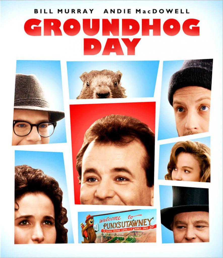Πόστερ για την Ημέρα της Μαρμότας / Groundhog Day film poster