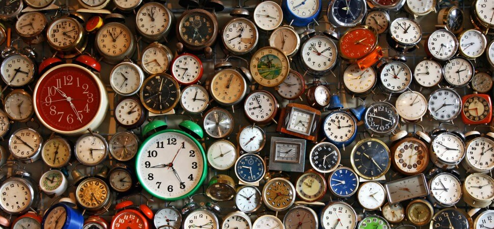 Ρολόγια, παντού ρολόγια! / Clocks, clocks everywhere