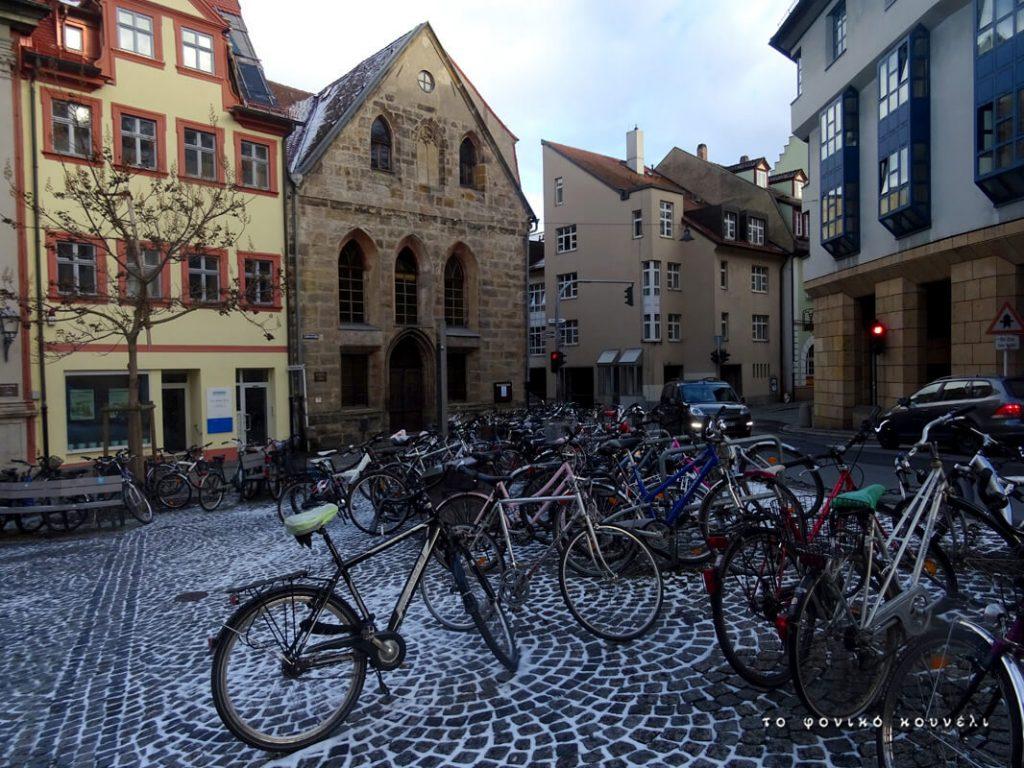 Ποδήλατα στο Μπάμπεργκ της Γερμανίας / Bicycles in Bamberg, Germany