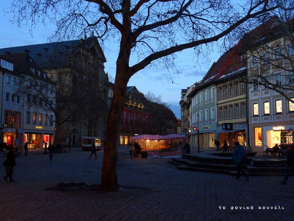 Από τον πεζόδρομο του Μπάμπεργκ στη Βαυαρία / View in Bamberg, Bavaria