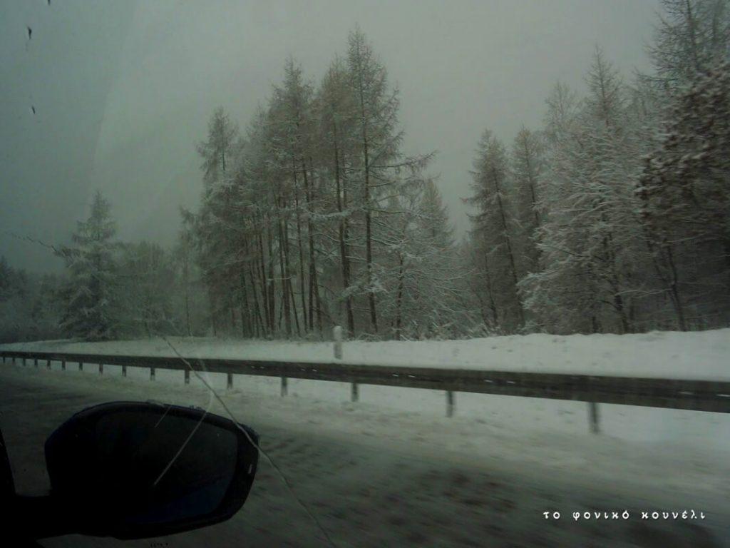 Χειμώνας στο δρόμο προς το Μόναχο / Winter on the road to Munich