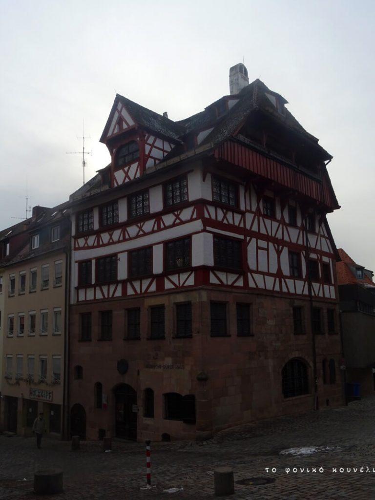 Το σπίτι του Ντύρερ στη Νυρεμβέργη / Albrecht Dürer's house in Nuremberg