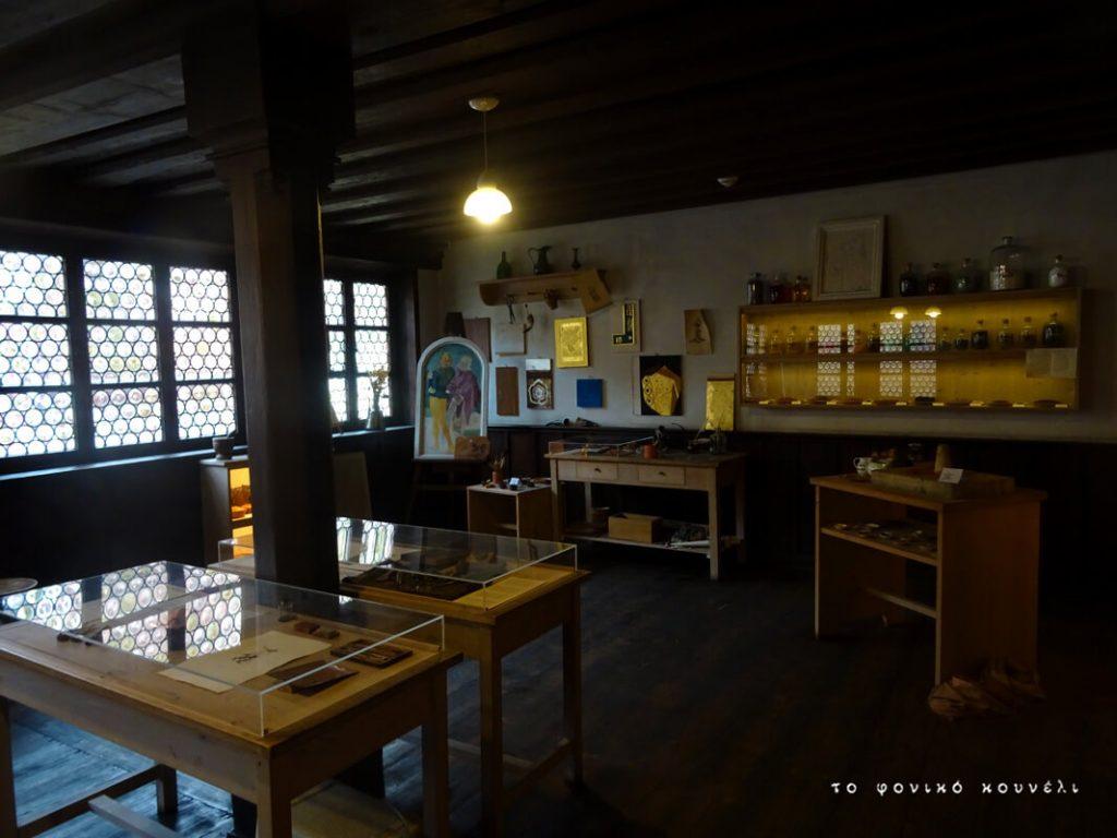 Το εργαστήρι του ζωγράφου Άλμπρεχτ Ντύρερ στη Νυρεμβέργη / Albrecht Dürer's lab in Nuremberg, Germany