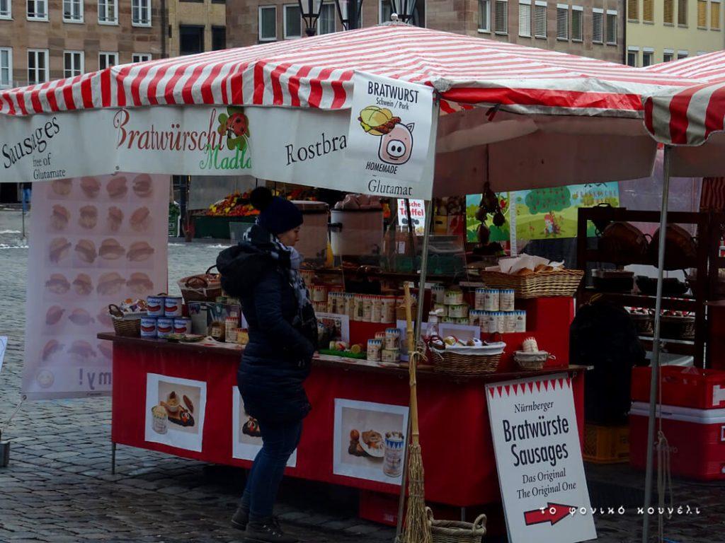 Από την υπαίθρια αγορά της Νυρεμβέργης / From the market in Nuremberg