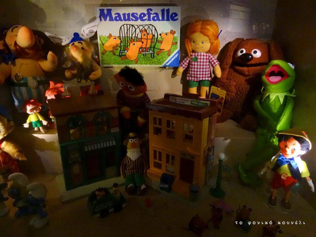 Παιχνίδια με χαρακτήρες της δεκαετίας του 70, από το μουσείο των παιχνιδιών / Toys of the 70's from the Toy Museum