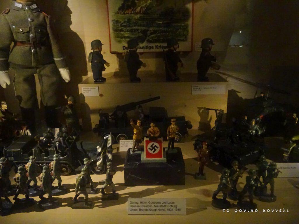Ναζιστικά παιχνίδια από τη Γερμανία των αρχών της δεκαετίας του 40 / Nazi toys from Germany in the 40's