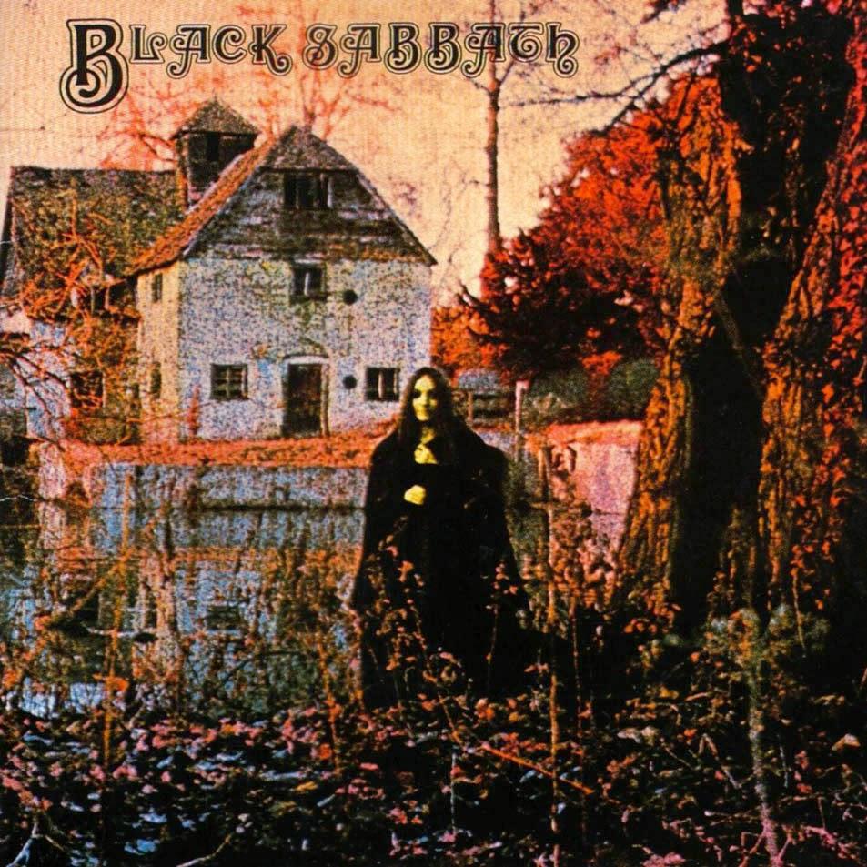 Black Sabbath album cover / Το εξώφυλλο του πρώτου δίσκου των Black Sabbath