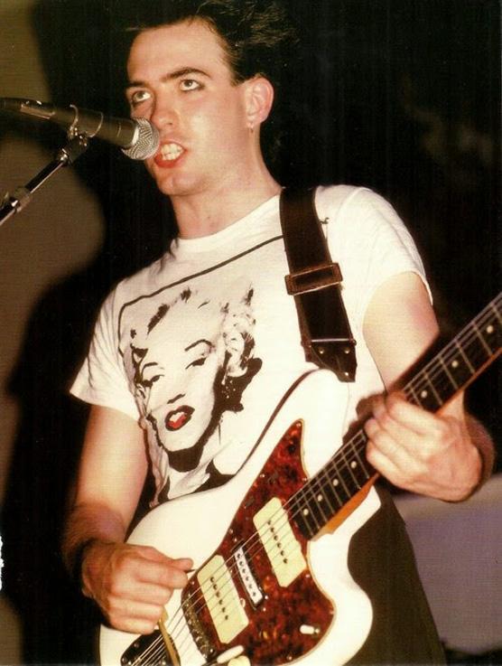 Robert Smith wearing a Marilyn Monroe T-Shirt