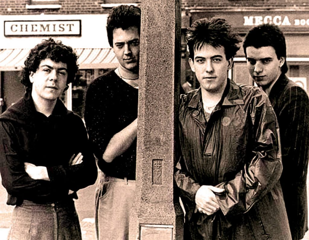 The Cure during the early 80's / Οι Cure στις αρχές της δεκαετίας του 80