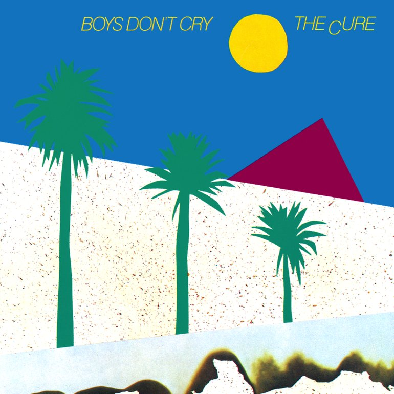 The Cure, Boys Don't Cry, album cover