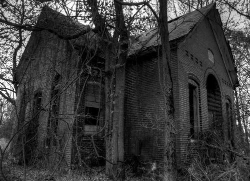 Dark forest church