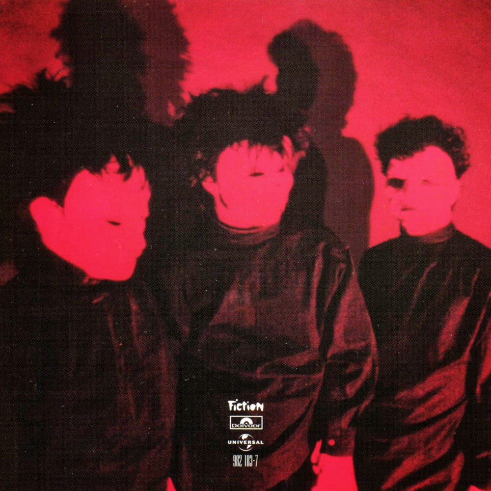 Pornography album back cover, by The Cure, 1982