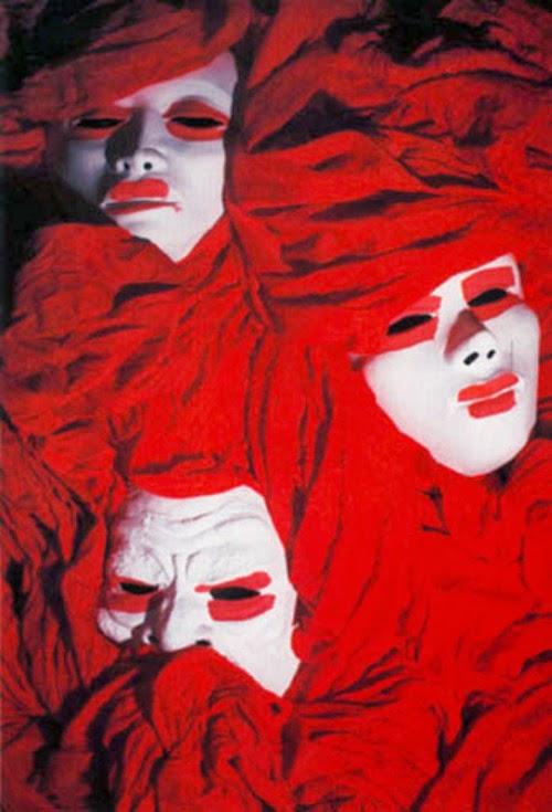 The Cure's Pornography album masks