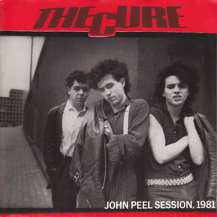 The Cure bootleg, John Peel session, 1981