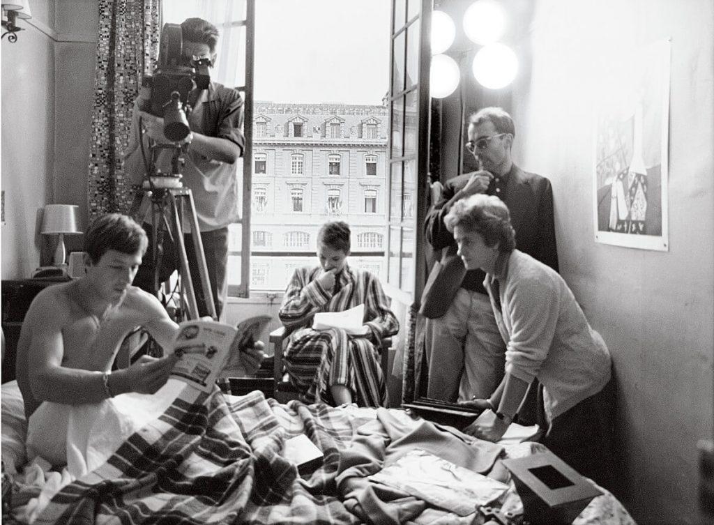 Godard filming Breathless, era of the Nouvelle Vague