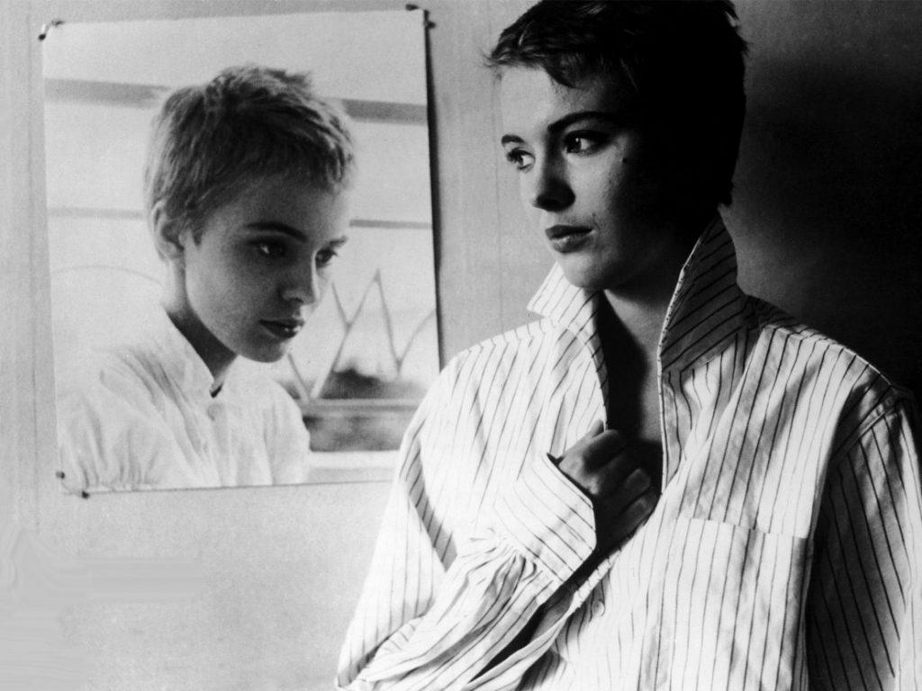 Ο Τζιν Σίμπεργκ στο Με Κομμένη την Ανάσα / Jean Seberg in Breathless