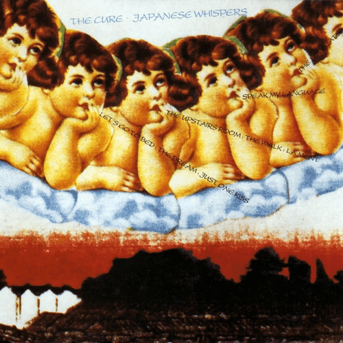 Japanese Whispers album cover, by The Cure