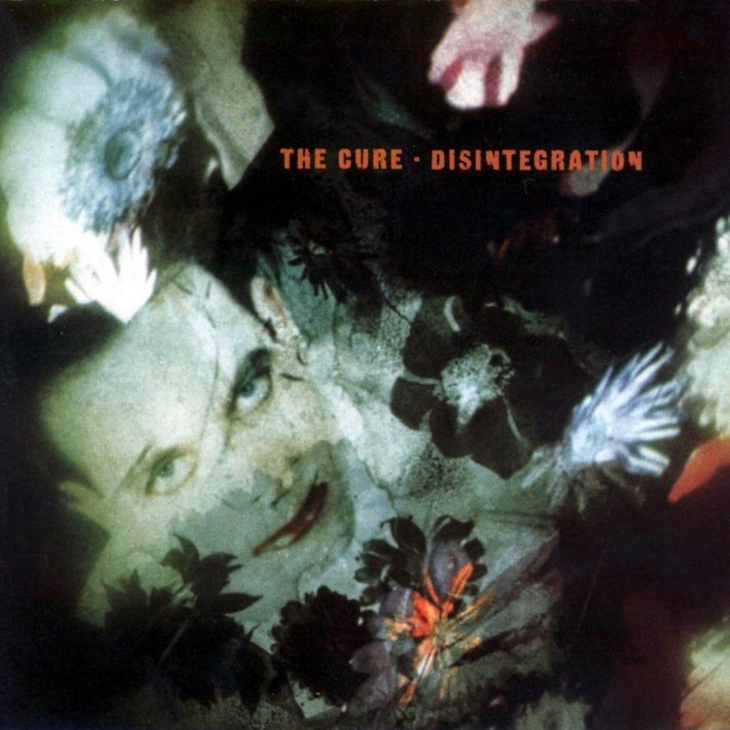 Disintegration album cover, by The Cure, 1989