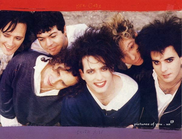 The Cure in 1986-87