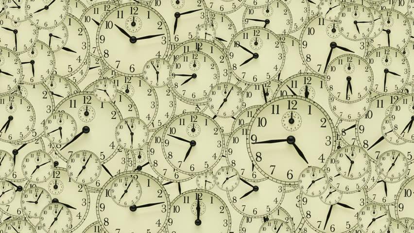 Ρολόγια, άγχος, εργασία, σύγχρονοι ρυθμοί ζωής / Clocks, clocks, clocks