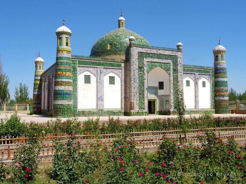Κίνα, στο δρόμο του μεταξιού... Το μαυσωλείο του Χότζα / China, on the Silk Road