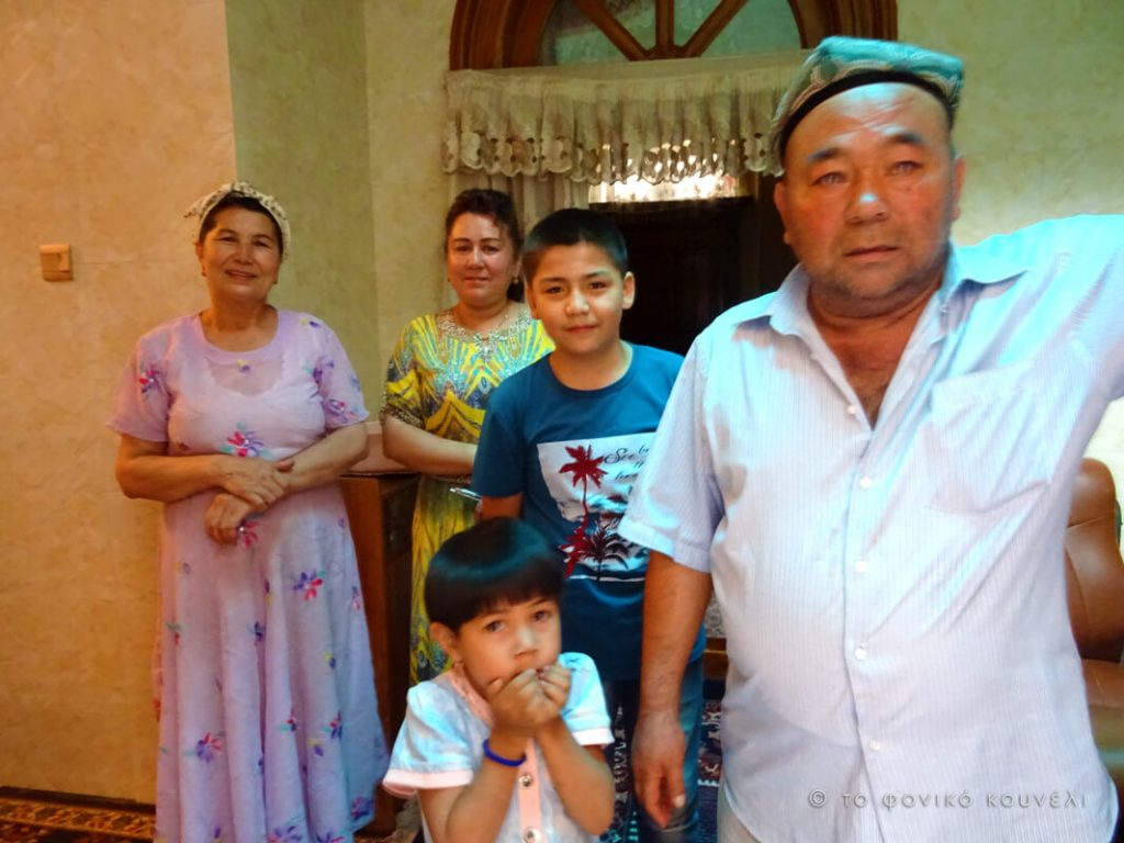 Κίνα, στο δρόμο του μεταξιού... Οικογένεια Ουιγούρων / China, on the Silk Road