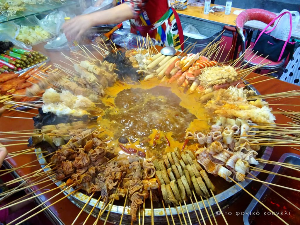Κίνα, στο δρόμο του μεταξιού... Διατροφή στη βορειοδυτική Κίνα / China, on the Silk Road
