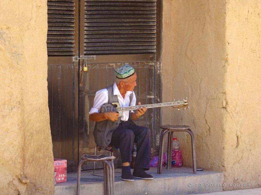 Κίνα, στο δρόμο του μεταξιού... Παραδοσιακοί μουσικοί / China, on the Silk Road