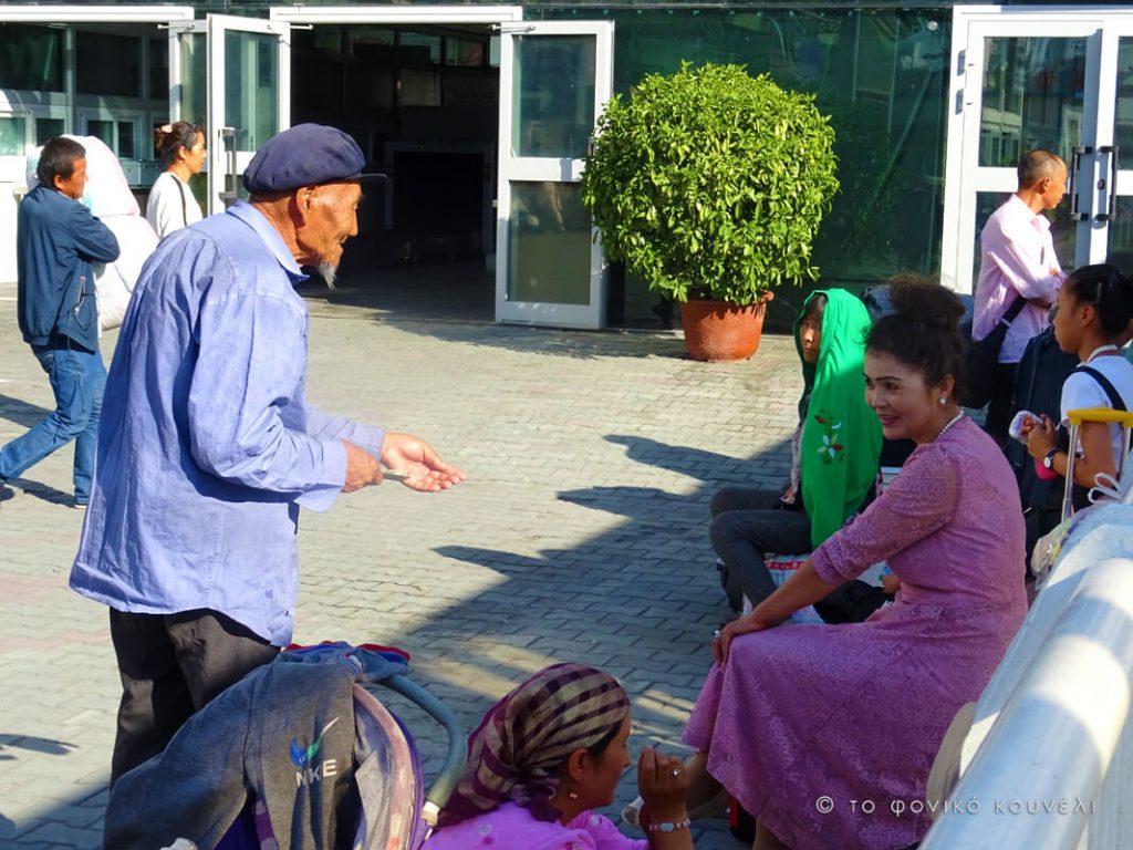 Κίνα, στο δρόμο του μεταξιού... Οι ντόπιοι κάτοικοι του Κασγκάρ / China, on the Silk Road