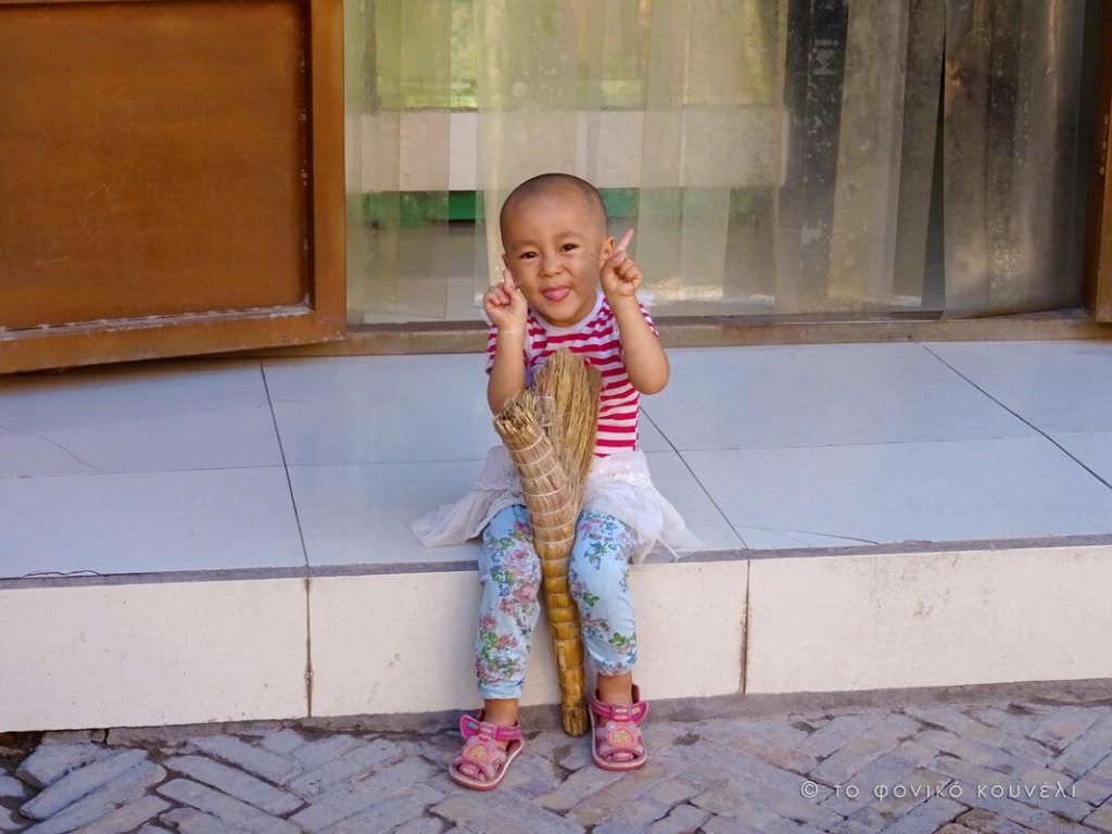 Κίνα, στο δρόμο του μεταξιού... ένας μικρός Ουιγούρος / China, on the Silk Road