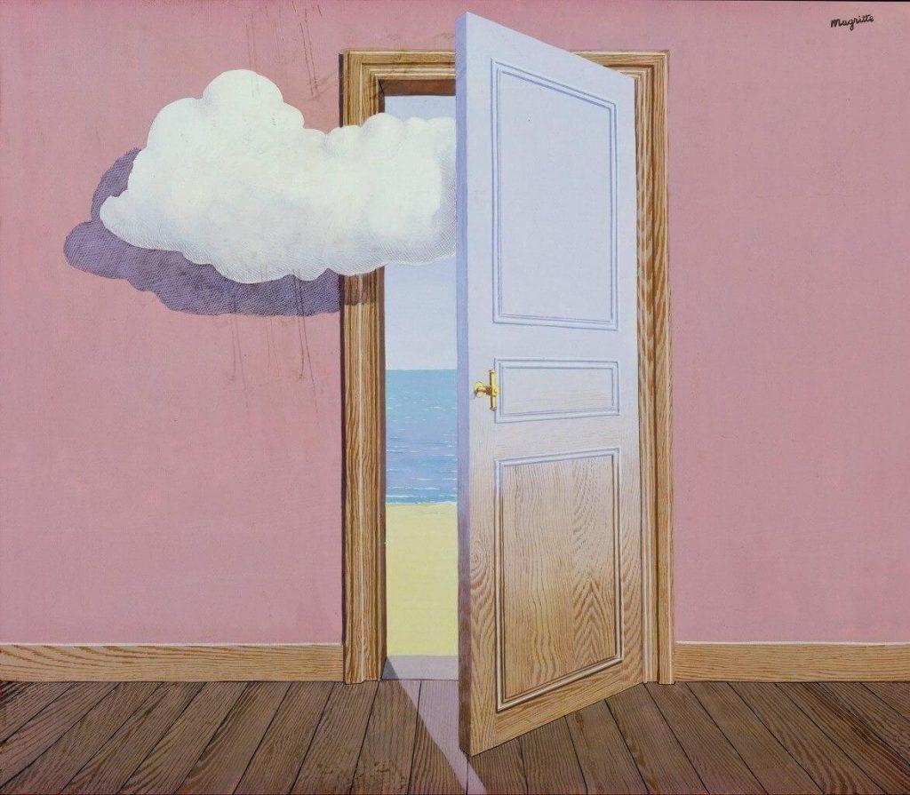 La Prophetie, painting by René Magritte / Πίνακας του Ρενέ Μαγκρίτ