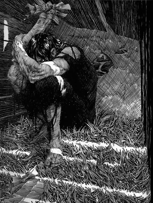 Φρανκενστάιν, σκίτσο του Bernie Wrightson / Frankenstein by Bernie Wrightson