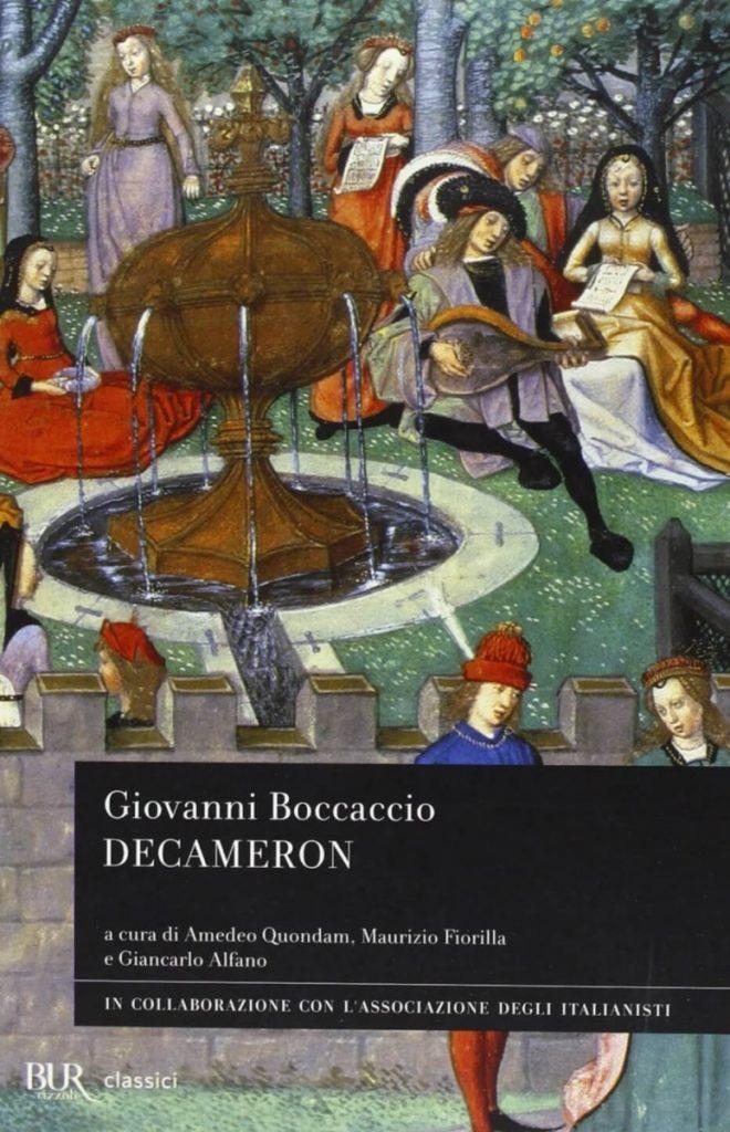 Giovanni Boccaccio, The Decameron, book cover