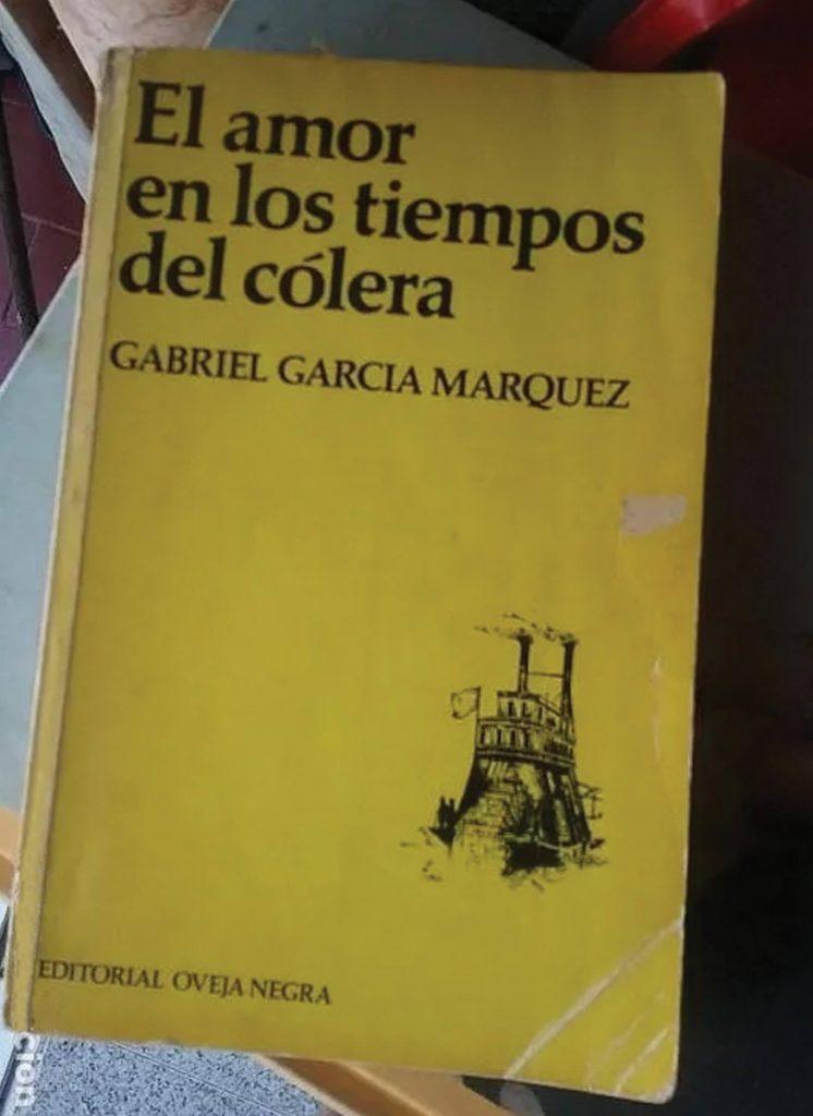 Γκαμπριέλ Γκαρσία Μάρκες - Έρωτας στα Χρόνια της Χολέρας, ισπανική έκδοση / Gabriel Garcia Marquez, El amor en los tiempos del cólera [love in the time of cholera]