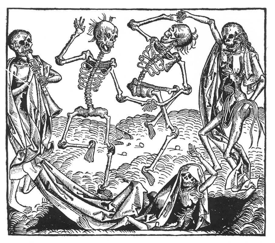 Ο Χορός του Θανάτου, γκραβούρα του Michael Wolgemut / Michael Wolgemut, Dance of Death, 1493.jpg