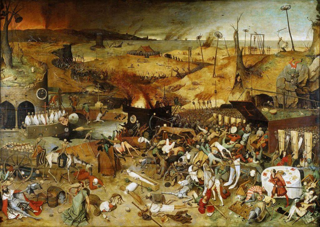 Ο Θρίαμβος του Θανάτου, έργο του Πίτερ Μπρέγκελ του πρεσβύτερου / Pieter Bruegel the Elder -The Triumph of Death painting (1562)