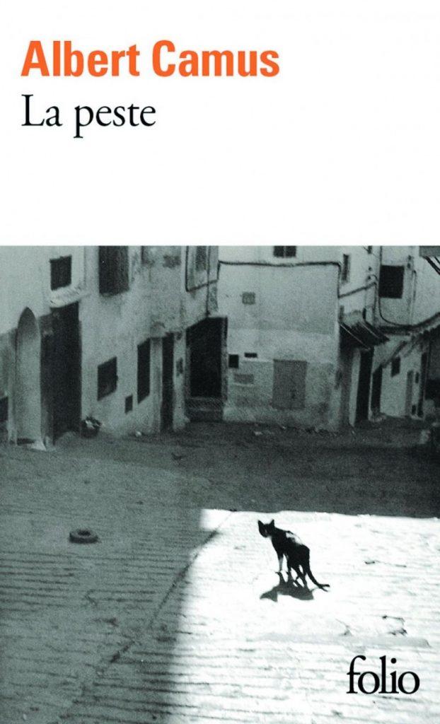 Albert Camus, La Peste / Η Πανούκλα του Αλμπέρ Καμύ, εξώφυλλο γαλλικής έκδοσης του βιβλίου