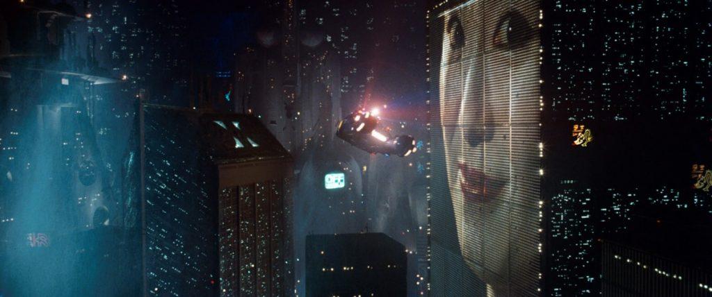 Πανοραμική σκηνή από το Blade Runner / City scene in Blade Runner film