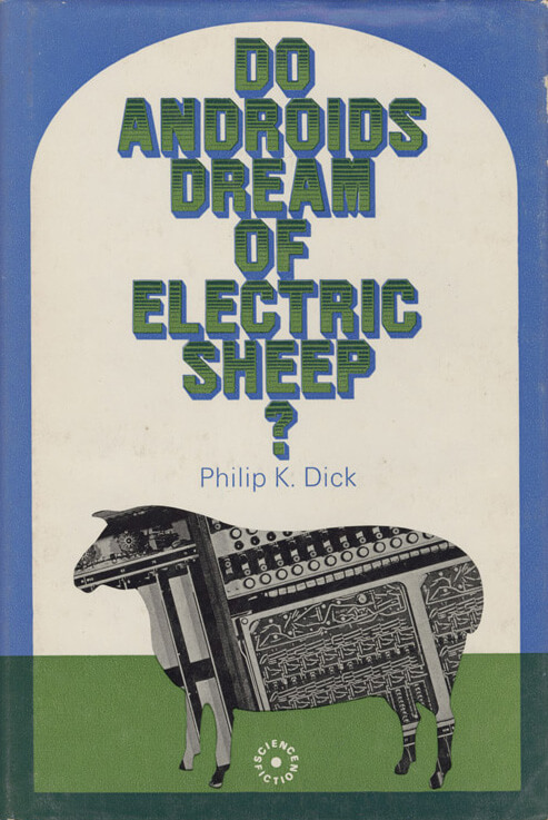 Do Androids Dream Of Electric Sheep, book cover