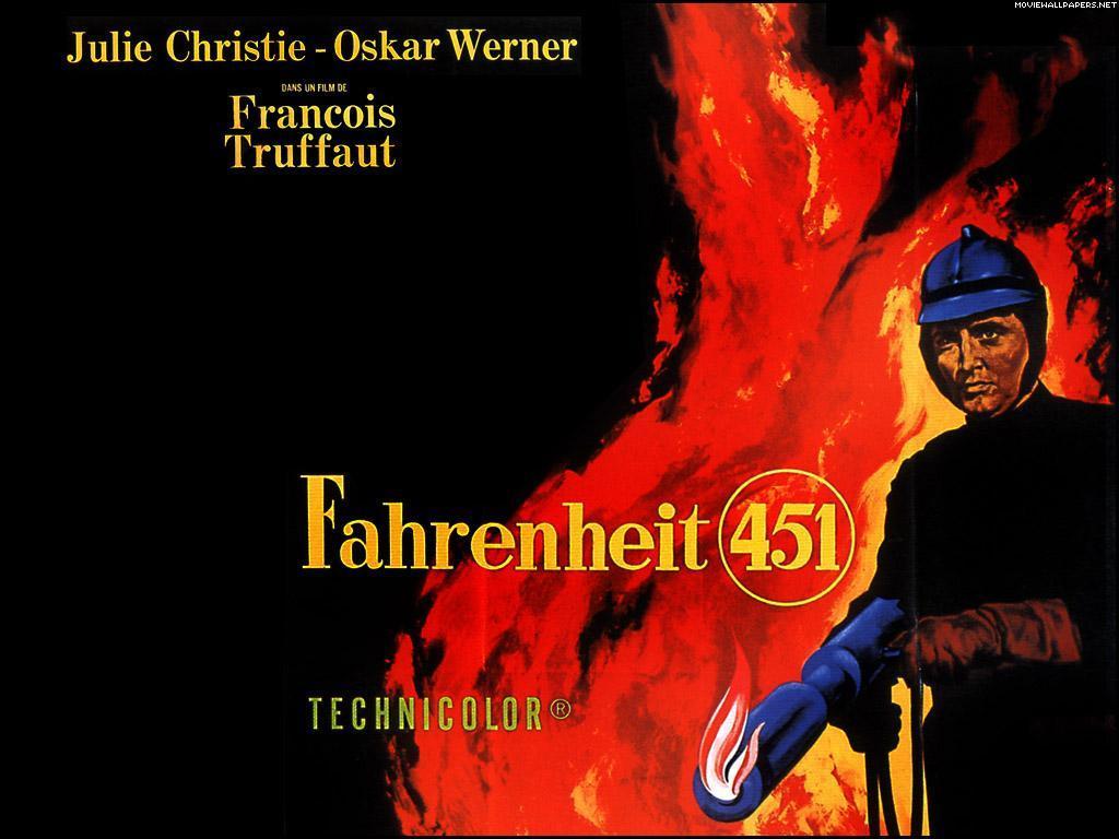 Fahrenheit 451, film poster / Αφίσα της ταινίας Φαρενάιτ 451