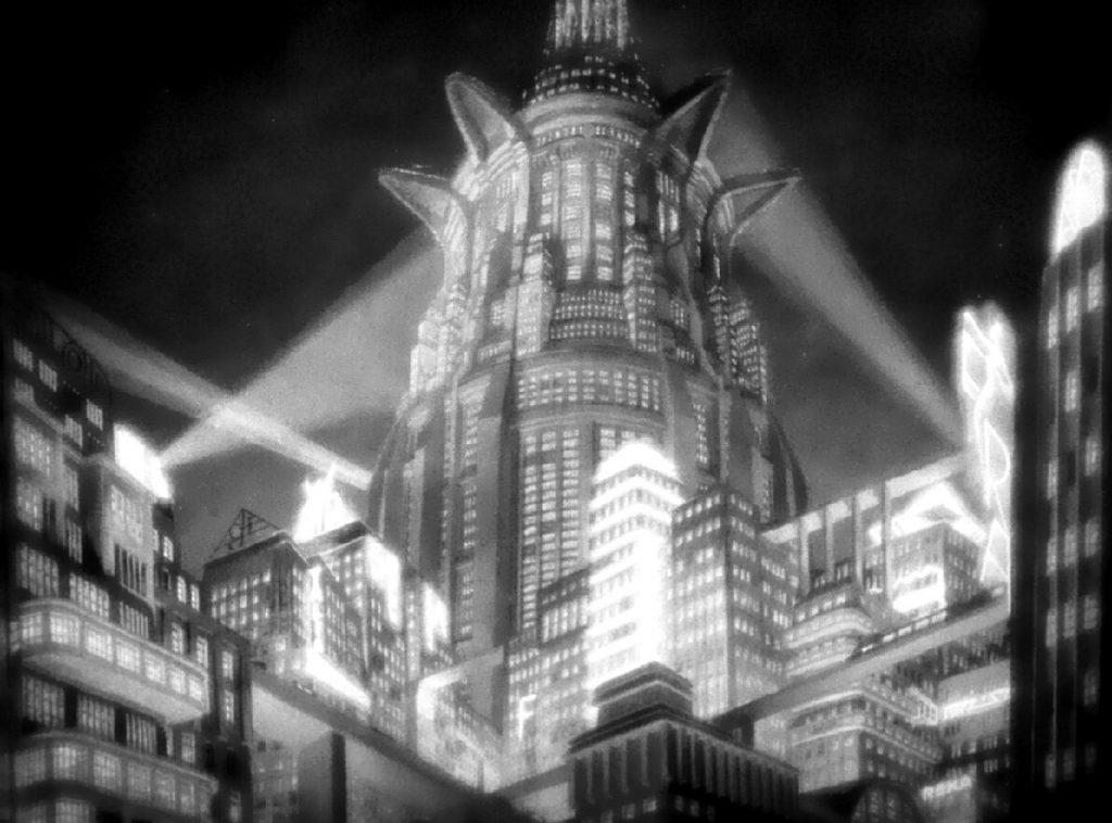 Η κυκλώπεια αρχικτεκτονική στο Μετρόπολις / Architecture in Fritz Lang's Metropolis film