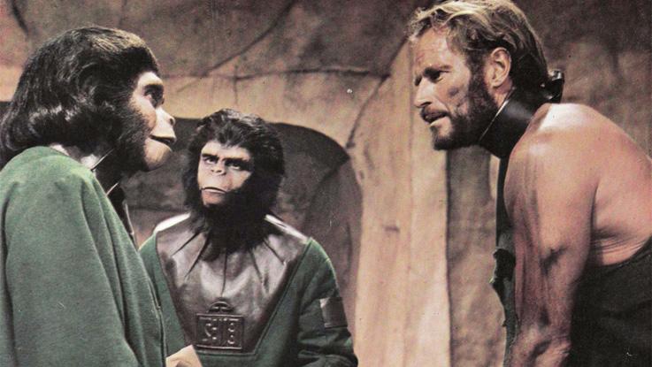 Σκηνή από τον Πλανήτη των Πιθήκων / Planet of the Apes, 1968