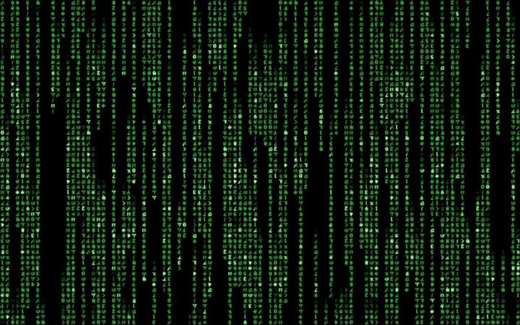 The Matrix wall / Ο ψηφιακός τοίχος του Μάτριξ