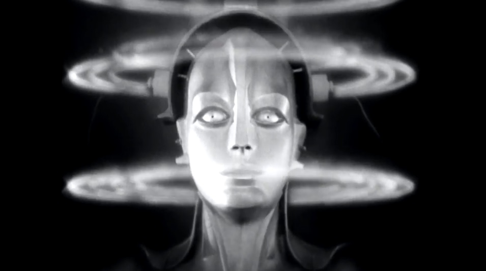 Το ρομπότ-γυναίκα στο Μητρόπολις του Φριτς Λανγκ / Female robot in Metropolis by Fritz Lang